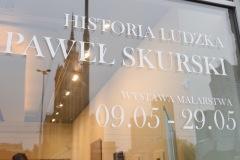 Paweł Skurski , Historia Ludzka, wystawa w muzeum im. Bolesława Biegasa